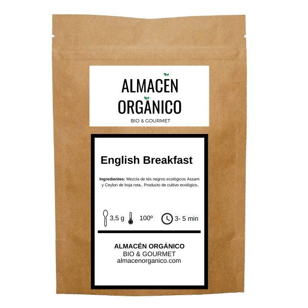 Te negro English Breackfast organico