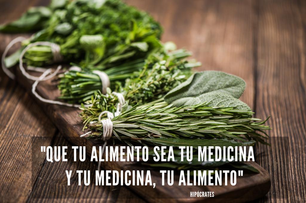 Que tu alimento sea tu medicina y tu medicina, tu alimento
