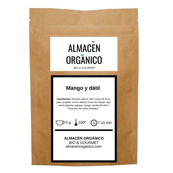 Rooibos organico con mango y datil