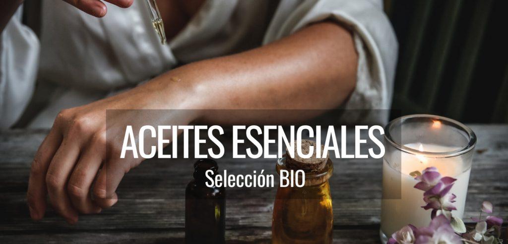 Aceites esenciales bio comestibles