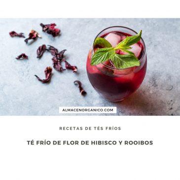 TÉ FRÍO DE HIBISCO Y ROOIBOS