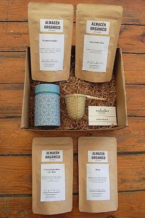 Caja de regalo infusiones ecológicas