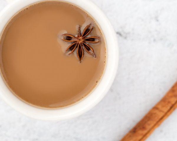 Receta de Chai con leche sin teina