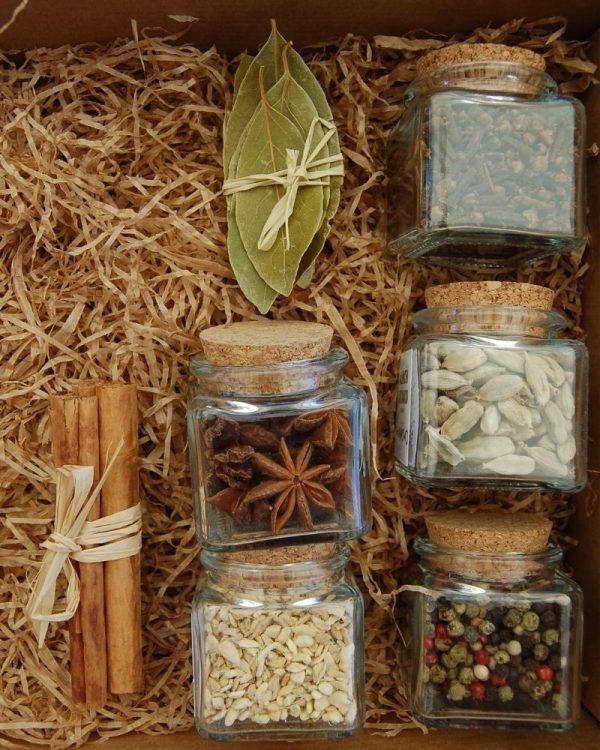 Especias para preparar te Chai