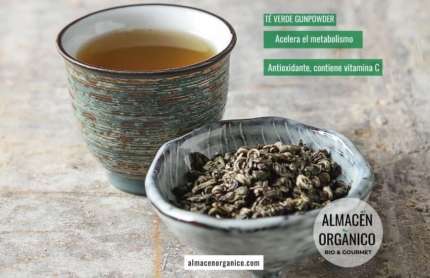 té verde ecologico gunpowder
