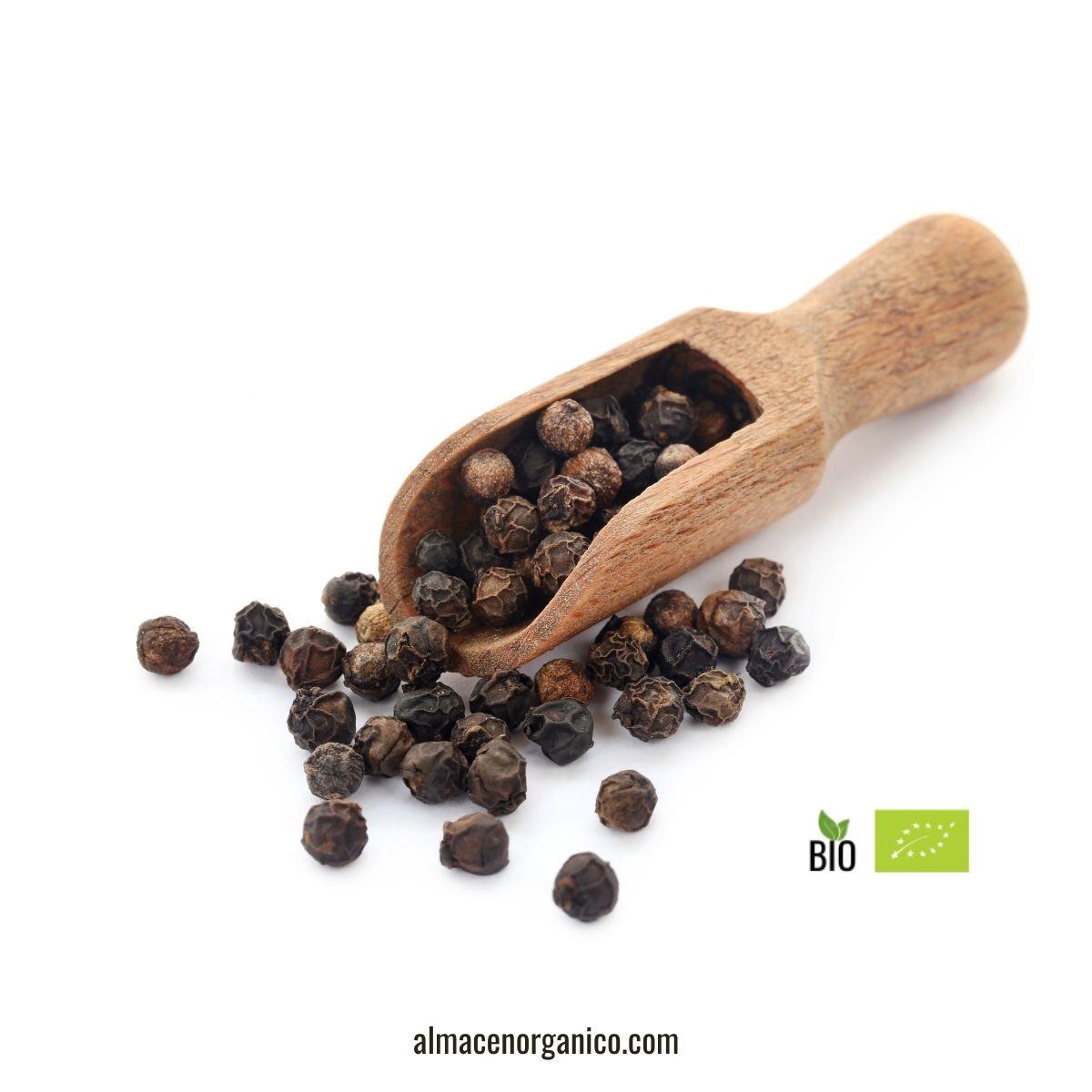 Pimienta negra en grano ecológica